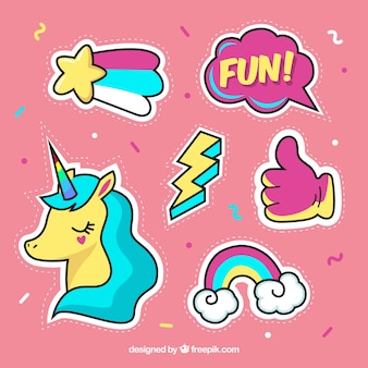 Leuke verscheidenheid aan mooie stickers