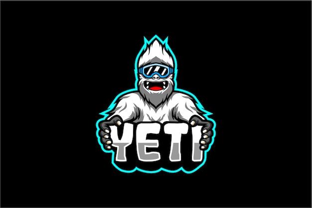 Leuke yeti-vector