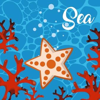 Leuke zee cartoons