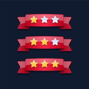 Level complete sterren