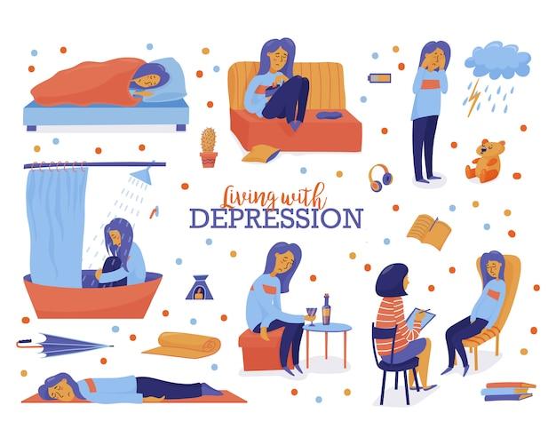 Leven met een depressie