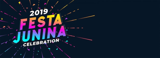 Levendige 2019 festa junina-viering