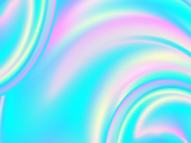 Levendige kleur. hologram vloeibare achtergrond. kleurrijk ontwerp. futuristische affiche. levendige vloeibare kleur. trendy kleuren. kleurrijk verloop. inkt vloeistof.