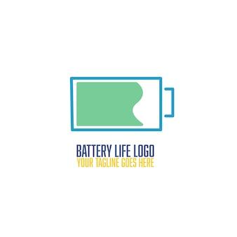 Levensduur van de batterij logo