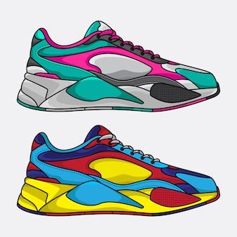 Levensstijl sneakers