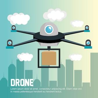 Levering drone afstandsbediening