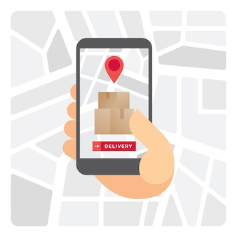 Levering tracking applicatie