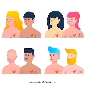 Lgbt pride-parencollectie