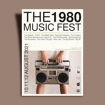 Licht 2021 muziekevenement poster