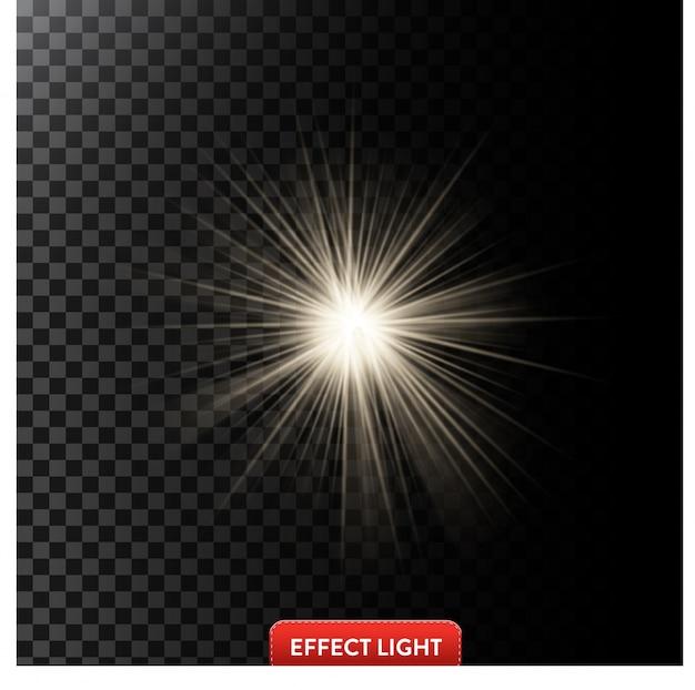 Licht effecten achtergrond
