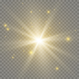 Licht flare speciaal effect. illustratie