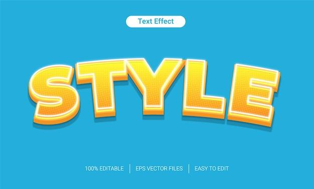 Licht gradiënt halftoon tekststijleffect