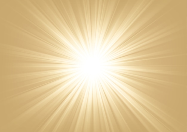 Licht schijnt op lichte achtergrond vectorillustratie