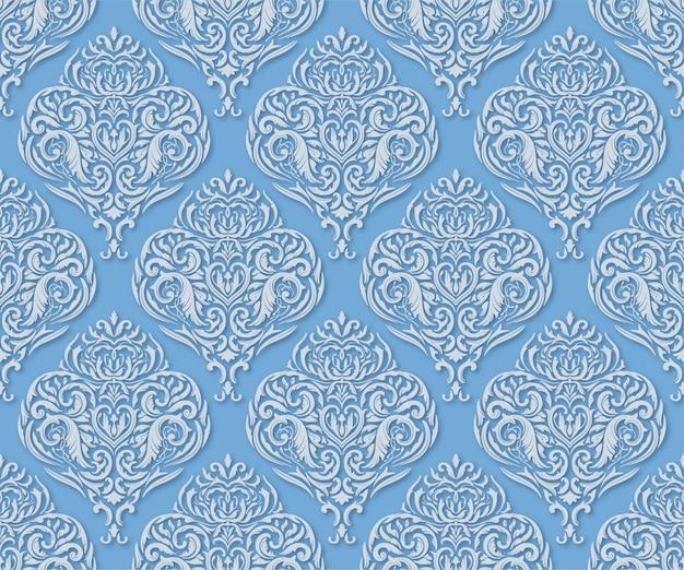 Lichtblauw naadloos patroon