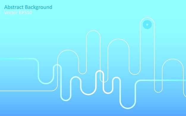 Lichtblauwe abstracte vectorachtergrond