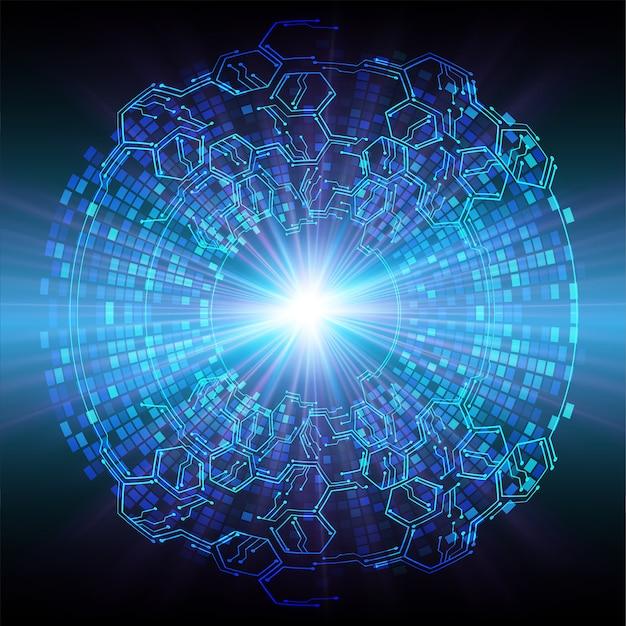Lichtblauwe zoom cyber achtergrond