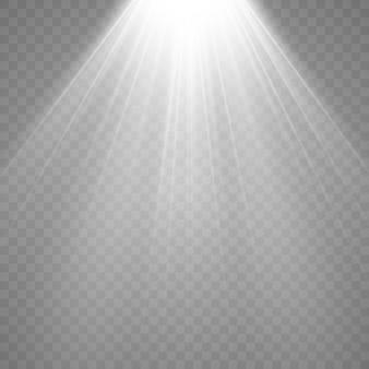 Lichtbronnen, concertverlichting, set spots. concertspot met lichtbundel, verlichte spots