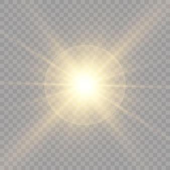Lichtbronnen, concertverlichting, spots. concertschijnwerper met straal, verlichte schijnwerpers voor webillustratieontwerp.