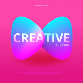 Lichte abstracte achtergrond. trendy modern. illustratie