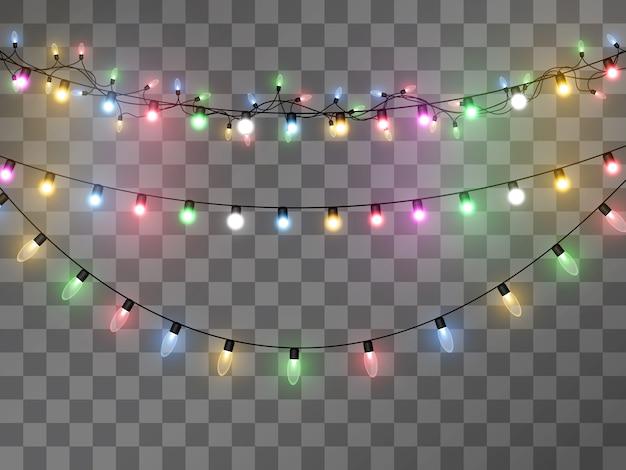 Lichte garland illustratie