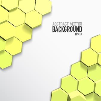 Lichte geometrische poster