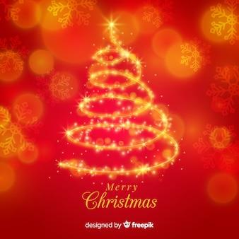 Lichte kerstboom