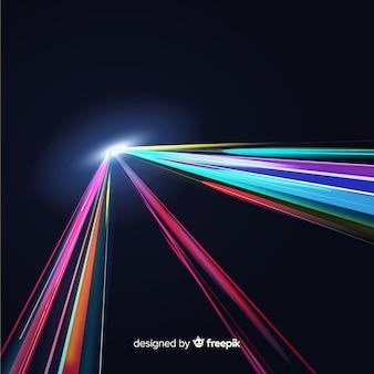 Lichte spoorachtergrond
