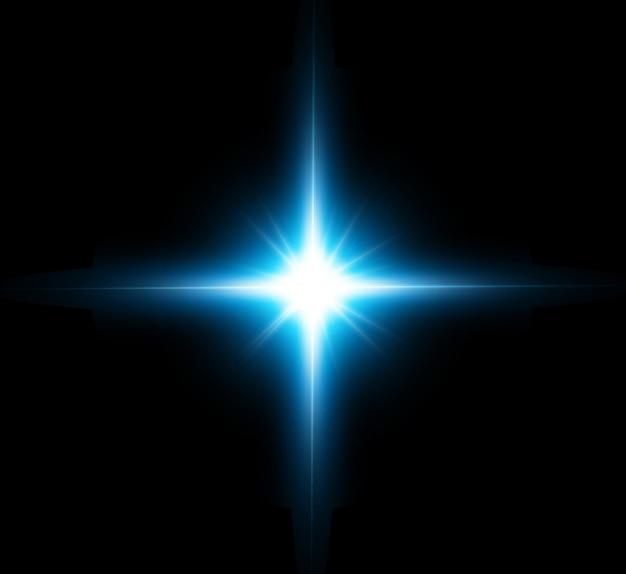Lichteffect, futuristische ster