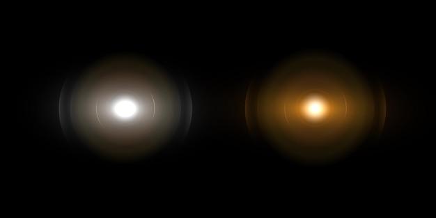 Lichteffect, lensflare.