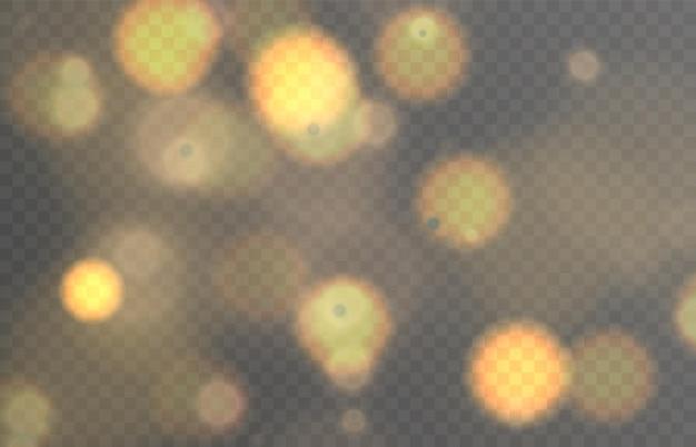 Lichteffect met hoogtepunten vector