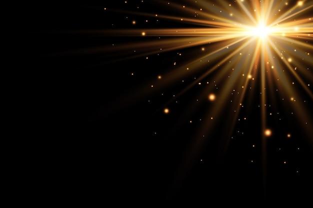 Lichteffect zon