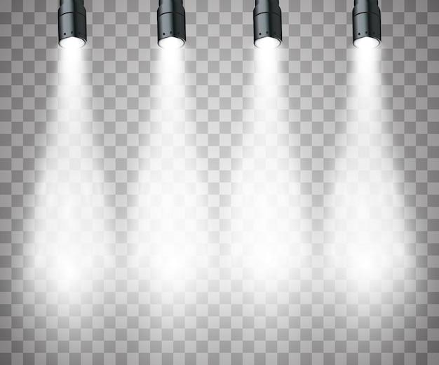 Lichteffecten schijnwerpers