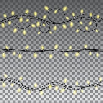 Lichten geïsoleerde ontwerpelementen
