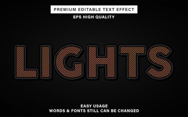 Lichten tekst effect