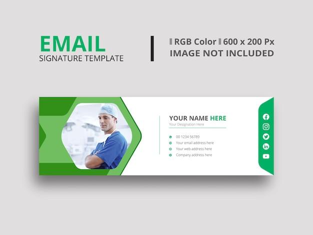 Lichtgroene e-mailhandtekening