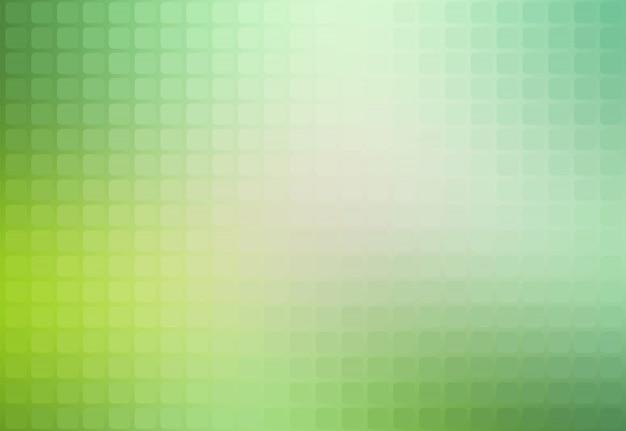 Lichtgroene tinten abstract afgeronde mozaïek achtergrond