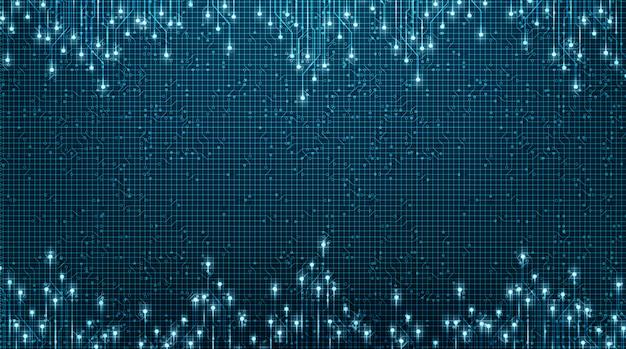 Lichttechnologie line microchip on future