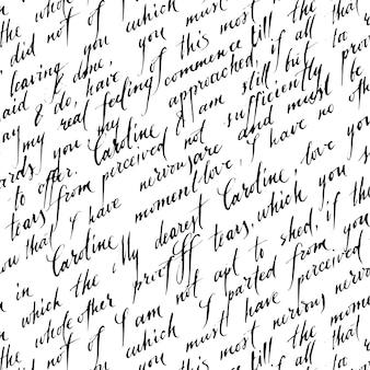 Liefde brief patroon