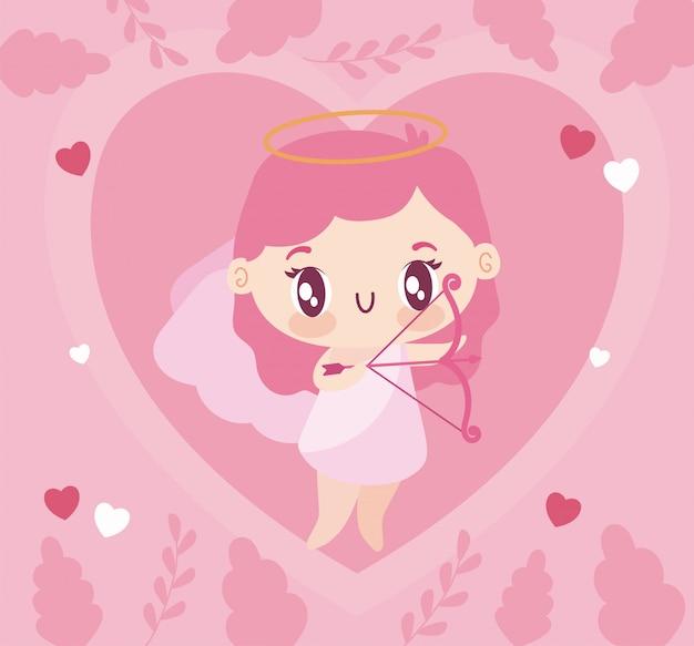 Liefde cupid cartoon