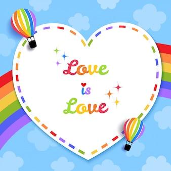 Liefde is liefdeskaart