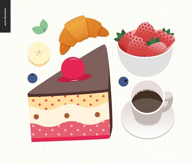Liefde, lente, samenstelling van het ontbijt