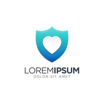 Liefde logo sjabloon