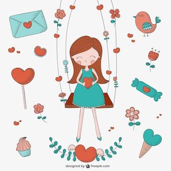Liefde tekeningen