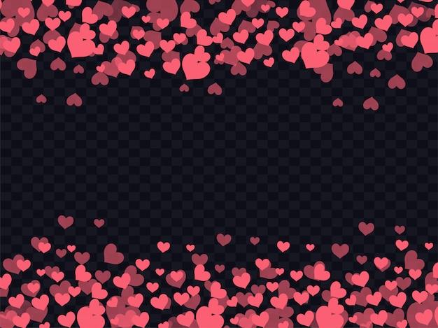 Liefdeachtergrond met rode harten wordt verfraaid dat.
