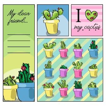 Liefhebber van cactus