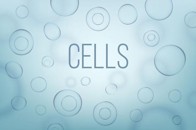 Life biologie cel geneeskunde wetenschappelijke achtergrond.
