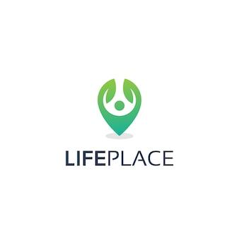 Life place logo-ontwerp