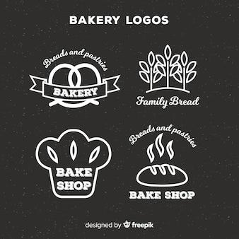 Lijn bakkerij logo's