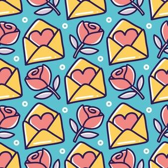 Lijn kunst foto van liefde kunst hand tekenen