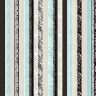 Lijn kunst patroon met gravure stijl